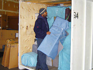 Moving storage service in Vancouver area