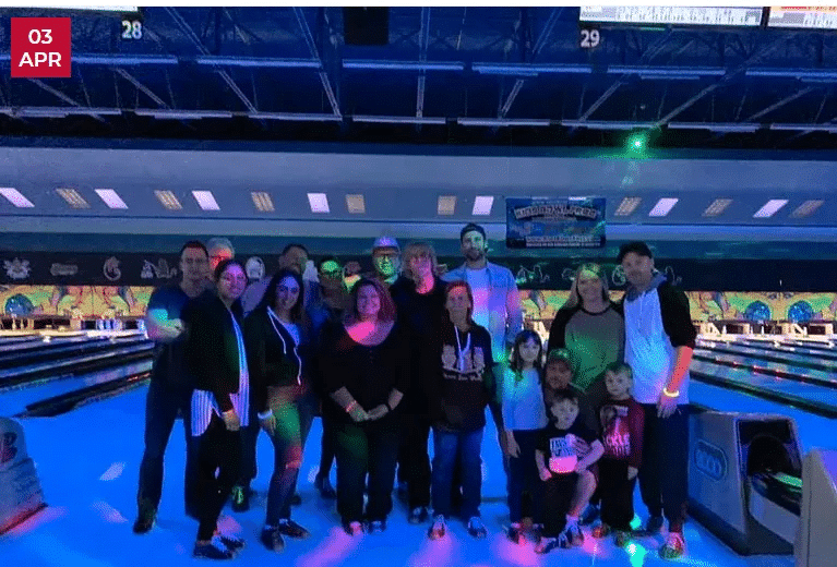 Salmon's Staff Bowling Night